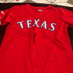 Texas Rangers Youth-Large Jersey